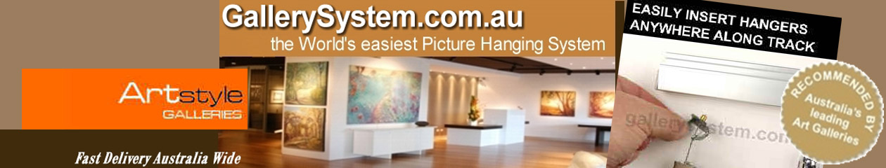 Picture Hooks and Picture Hanging Systems - The easy way to hang pictures
